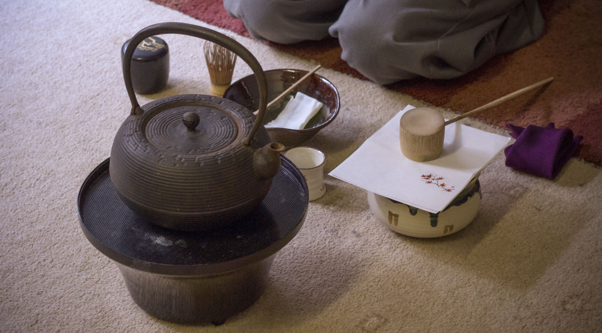 TEA CEREMONIES - Sun 17th